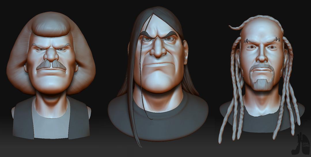 Adam Schuman Character Artist